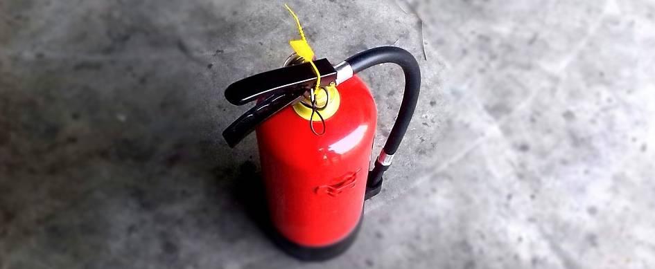 sprzęt do gaszenia pożarów